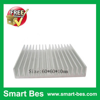 Smart Bes!Free shipping!10Pcs/lot Aluminum heatsink cooler fan 60*60*10mm Easy installation