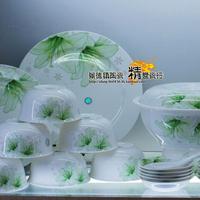 Ceramics 56 bone china dinnerware set gift bowls