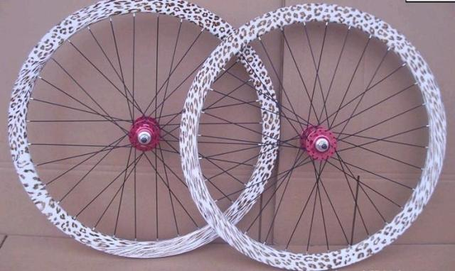 Fixed gear bicycle racing diy sealed bearing wheels ,FixedGear,Free Shipping with EMS(China (Mainland))