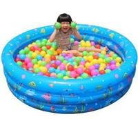 Unisex 1-4 Years Thickening 100cm Ball Pool +200pcs 7cm Ocean balls Blue Green children toys 2013 New 1set/lot Free shipping