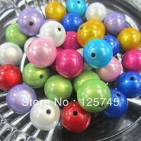Free Shipping.Mixed 30mm Acrylic Miracle Beads 36pcs/Lot