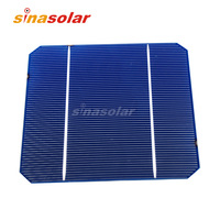 2.8W A Grade 125*125mm Monocrystalline Solar Cell For Solar Panel DIY
