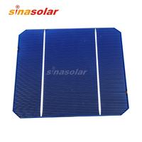 2.8W A Grade 125*125mm Monocrystalline Solar Cell For Solar Panel DIY