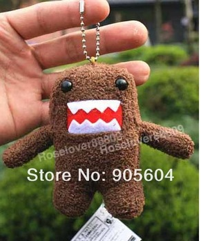 Domo Kun Plush Doll Toy Keychain Baby Kids Cell Phone Strap