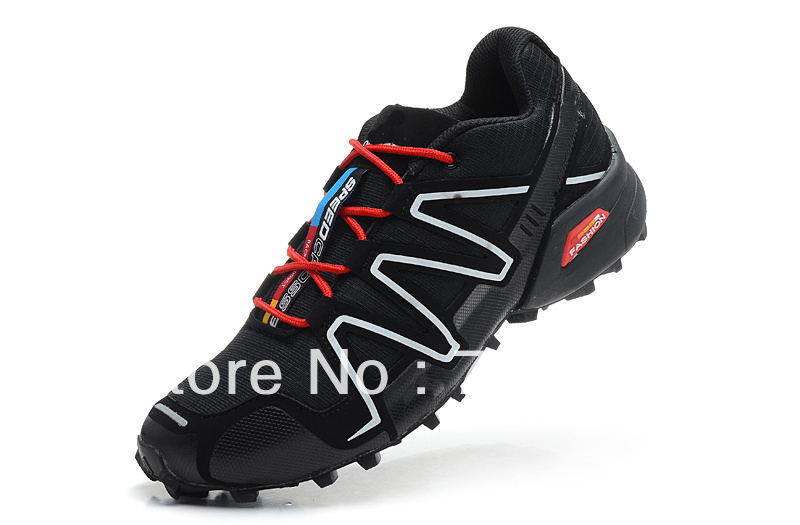 2013 NEW Mens AD & SALOMON Hiking Running Shoes Speed Cross 3 US 11 45 Trail Runner HOT Sale!FREE Shipping(China (Mainland))