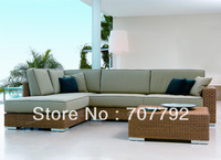 Luxury Outdoor Furniture All Weather Wicker Patio Sofa Set