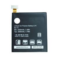 Oringinal For LG Batterie AKKU  BL-T3  BLT3 P895 Optimus VU Bateria Batterie AKKU Accumulator PIL battery Free shipping