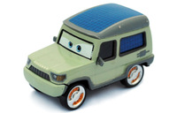 HOT !  THE NEWEST ! Free Shipping !!  Blue Sir Meyers Pixar Cars Miles Axelrod alloy  Diecast