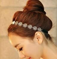 G195 accessories hair accessory hair accessory cutout rose hair band hair maker hair bands headband