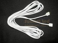 wholesale 10pcs 11ft 3.5M extension cable connect 4pins plug led strip lights RGB5050 3528 link