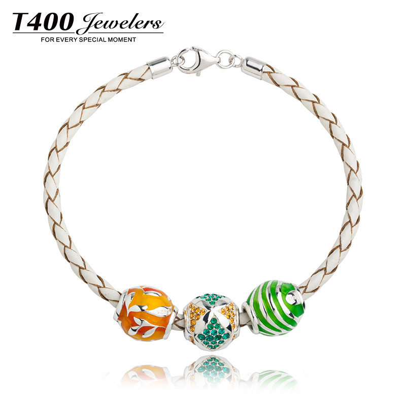 Hot sale T400 made with swarovski elements,925 sterling silver,compatible with pandora bracelets#Q103/Q104/Q109,free shipping(China (Mainland))