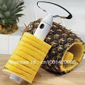 10pcs/lot Pineapple Easy Slicers Fruit Cutter Corer Knife Peeler Kitchen Knives(China (Mainland))