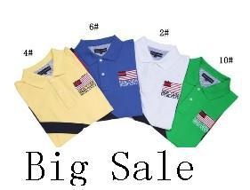 2013 Fashion brand tommi shirts men T shirt USA Flag 100% cotton free shipping(China (Mainland))