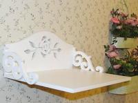 Rustic rose belt cutout set-top box rack carved tv shelf wall shelf dvd rack shelf