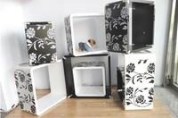 Home print square set piece set trekked shelf diaphragn shelf