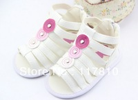 2013 New style hot sale Summer Baby sandals High quality baby shoes/Toddle sandals / girls sandal shoes 3 colors