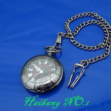 wholesale black pocket watch
