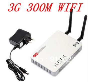 wholesale 300M 3G / WAN  2 Antennas Mini Wireless - N WiFi USB AP Router 300M 3G / WAN , Free  Shipping