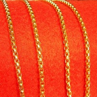 Pure gold  18k gold necklace gold chain high quality gold necklace all collocation for gift birthday gift