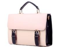New Fashion Light Pink Ladies Girls Women's Handbag Totes Bag Clutch Purse, Free Shipping + Wholesale!