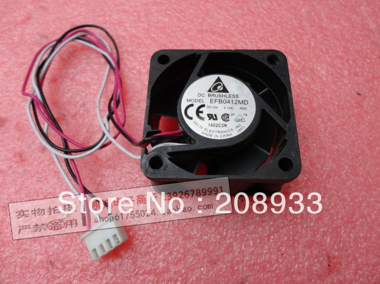 Original Delta 4020 12V 0.10A H3C S390 dedicated fan 4CM EFB0412MD R00+cooling fan(China (Mainland))