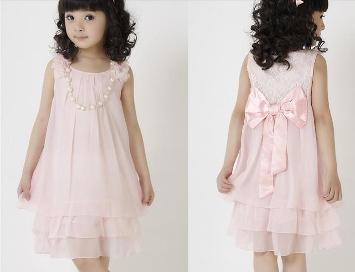 Children's clothing female child summer 2013 chiffon one-piece dress child summer princess suspender skirt(China (Mainland))