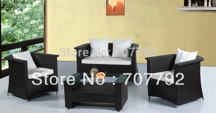 NEW!Mason Patio Outdoor Wicker Sofa Set(China (Mainland))