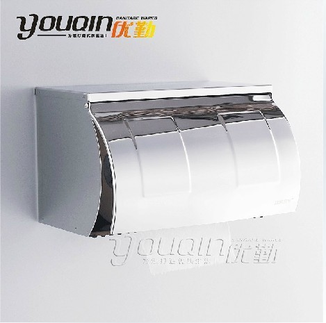 Guanchong 304 stainless steel toilet paper box paper towel holder ultra long 8809(China (Mainland))