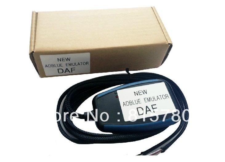 Professional New Truck Adblue Emulator Box for DAF Disable AdBlue System in Emergency with Powerful Performance+Free Shipping(China (Mainland))