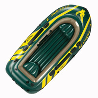 Rubber inflatable boat Intex 68349 seahawks thickening ship inflatable boat fishing boat 3 inflatables hovercraft
