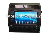 Free shipping Car dvd player for TOYOTA Land Cruiser 2 DIN  8 inch