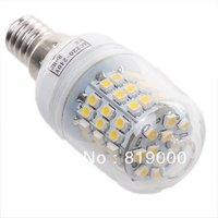 1pc/lot Spot Lights3528 60leds 3.5W 420-480LM LED E14 Bulb Lamps Wholesale Warm/Pure White Downlight AC220-240V 710173