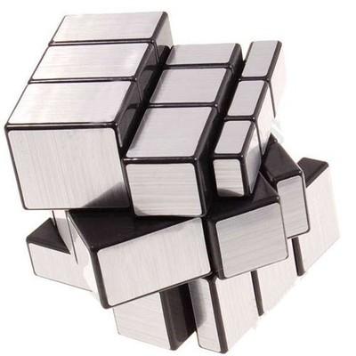 3x3x3 Straight Drawing Mirror Magic Puzzle World Twist Game Magic Cube Toy(China (Mainland))