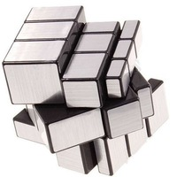 3x3x3 Straight Drawing Mirror Magic Puzzle World Twist Game Magic Cube Toy