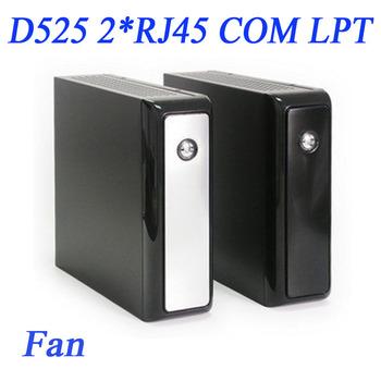 Mini-ITX Atom D525 with COM  LPT VGA 2RJ45 4USB 5.1 HD Audio IN-D5P