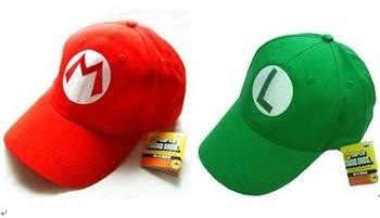 Fashion hot-selling ! 100% cotton child baseball cap sun-shading cosplay Anime hat Super Mario Mary Children Caps & Hat