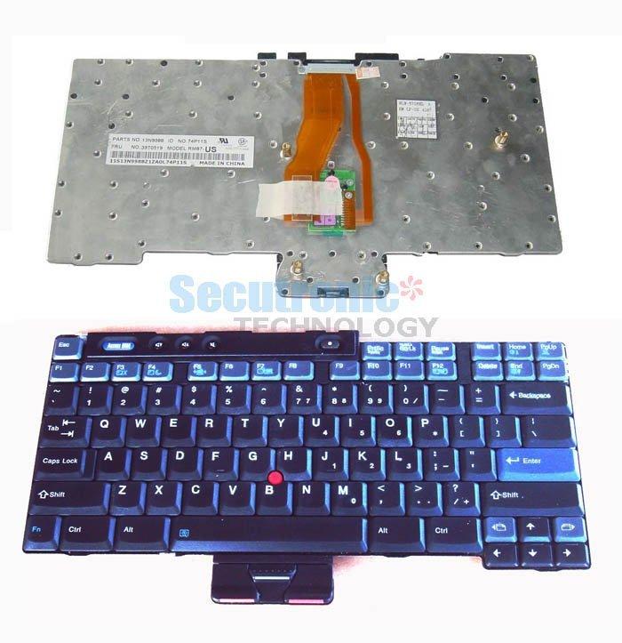 Laptop keyboard for Lenovo series forT40, T41 & T42 keyboard(China (Mainland))