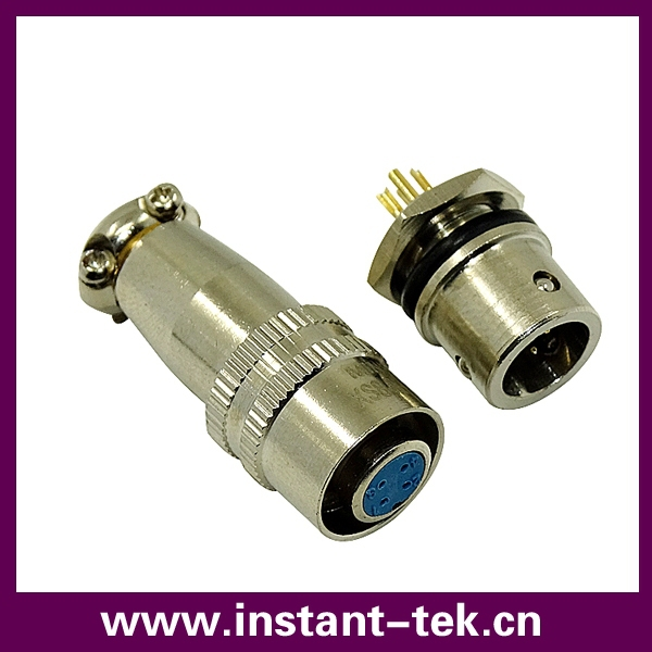 XS8 2PINS waterproof locking plug(China (Mainland))