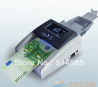 Free Shipping NEW  Mini Portable Handy Bill Cash Money All Currency Counter Counting Machine for EUROS