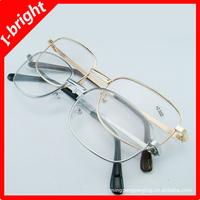 I-bright promotion oversized metal crystal reading glasses large frame gold/silver unisex wholesale free shipping