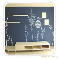Good quality fashion tree Wall Decals PVC Removable Art Home Wall Stickers Kids Room Nursery Wall Decor