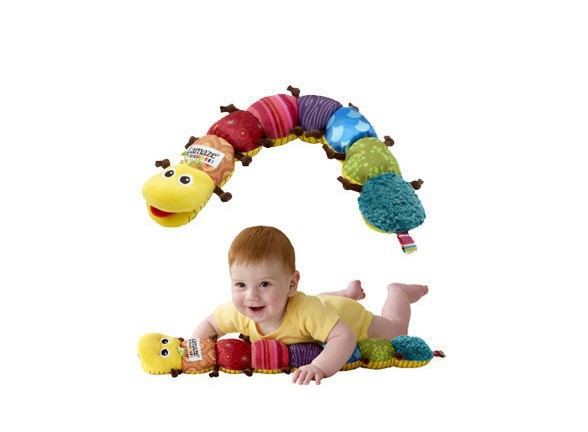 Creative Novelty Free shipping Lamaze Musical Inchworm/Musical Plush Toys/Educational Toys of Cute baby rattle toys(China (Mainland))