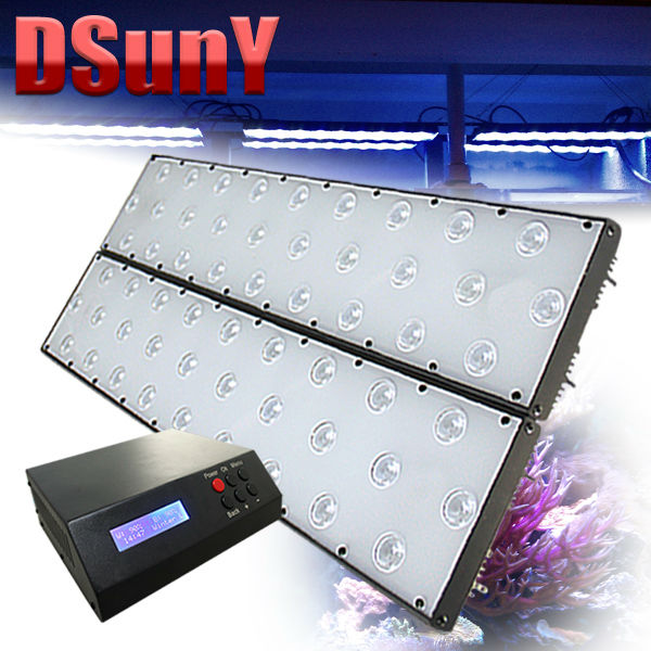 Free shipping! DSunY programmable, dimmable, freshwater aquarium light with timer, no any fan noise, Ultra Thin(China (Mainland))