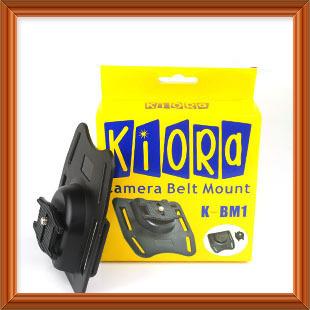 Free shipping worldwide + tracking number KIORA K-BM1 DSLR Digital Camera Belt Mount/Button/Holder