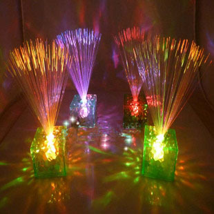 Free shipping wholesales 2013, Watercubic mantianxing optical fiber flower light-up toy flower color colorful bar supplies(China (Mainland))