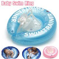 1pcs High Quality Baby Swimming Ring &  PVC Inflatable Ring & Neck Ring For Baby Swimming Free Shipping