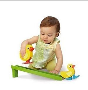Baby educational toys 0 mdash . 3 duck slide
