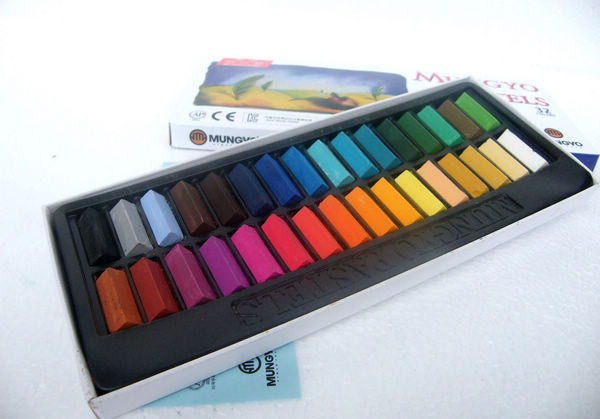 EMS 32 Colors/set MPS Temporary Hair Chalk Color Dye Pastel Chalk Bug Rub Soft Pastel Bar 50 sets(China (Mainland))