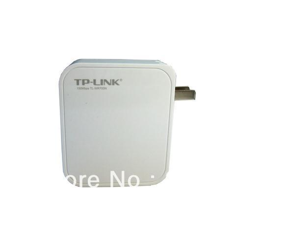 wireless router TP-LINK TL-WR700N 150M mini partner 802.11b 802.11g 802.11a Free shipping(China (Mainland))