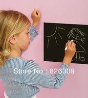 45*200cm EMS Chalkboard Panels 4 Wall's Slate Gray Black Board Chalk Wall Mural Sticker Decal blackboard sticker